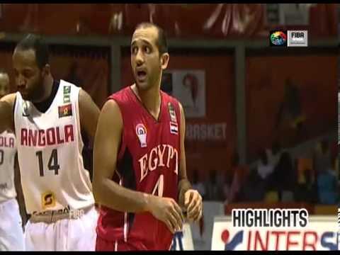 Finale : Angola 57-40 Egypte
