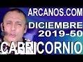 Video Horóscopo Semanal CAPRICORNIO  del 8 al 14 Diciembre 2019 (Semana 2019-50) (Lectura del Tarot)