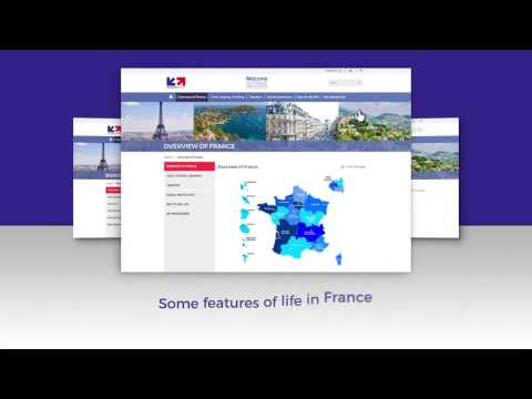 """WELCOME TO FRANCE"" WEBSITE PRESENTATION"