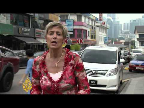 Malaysian economy feels economic downturn
