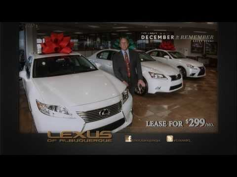Lexus of Albuquerque December 2 Remember Sales Event 2013