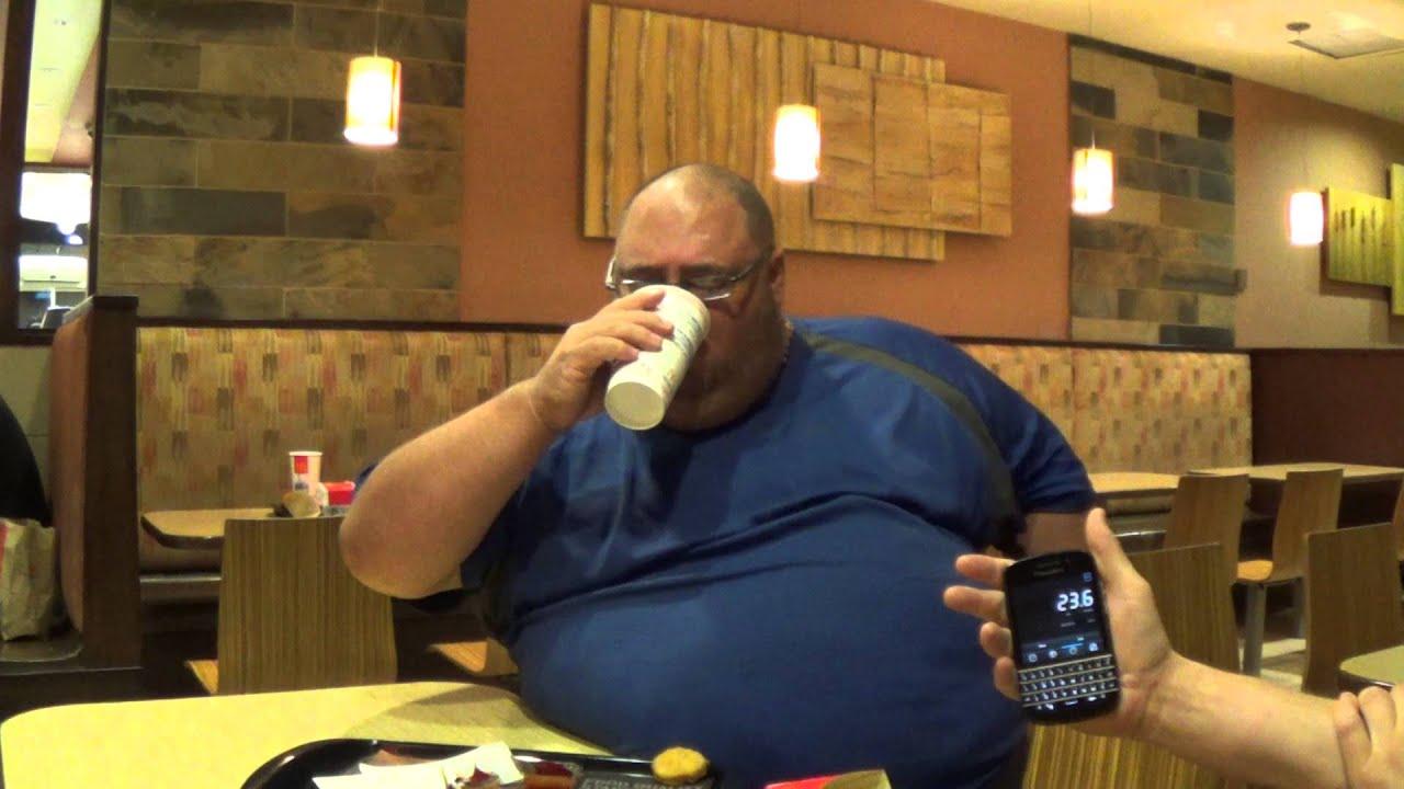 Fat Guy At Mcdonalds 109