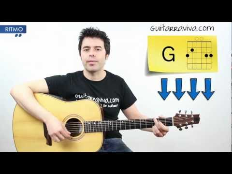 Aprende a tocar (FACIL) LET IT BE de THE BEATLES en guitarra Acordes y ritmo tutorial completo