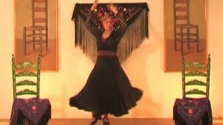 Aprende a bailar sevillanas. Parte 23