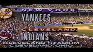 New York Yankees at Cleveland Indians 04 05 1993 Last Opening Day Municipal Stadium