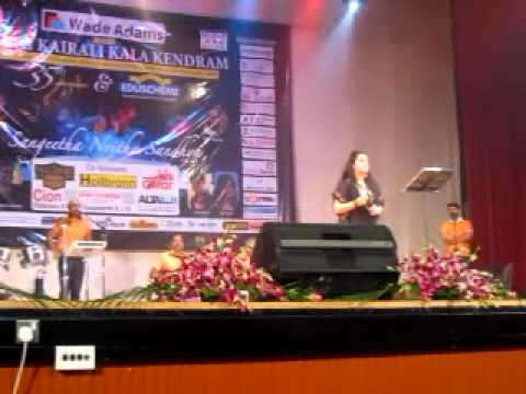 Piya tu Ab To aaja - ROSHINI   AT  KAIRALI KALA KENDRA STAGE DUBAI WITH IDEA STAR SINGERS