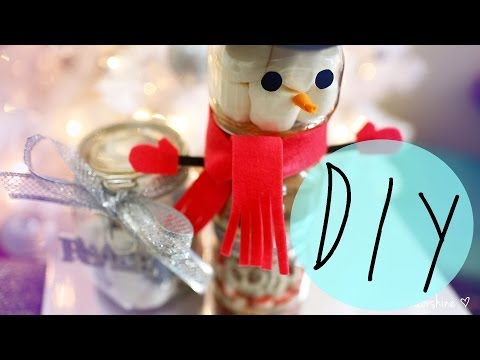 DIY Cute Holiday Gift Ideas Using Jars