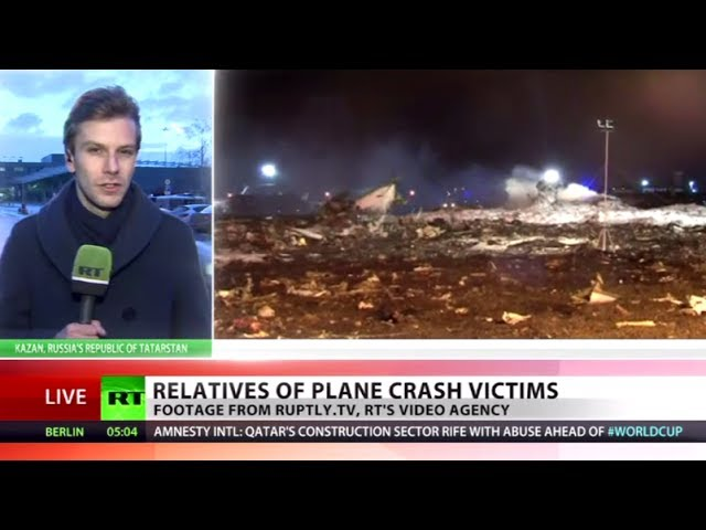 Kazan air crash: Day of mourning declared in Tatarstan