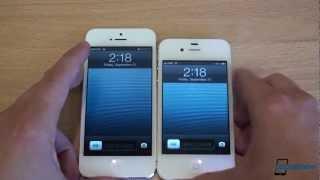 iPhone 5 vs. iPhone 4S karşılaştırma - İngilizce