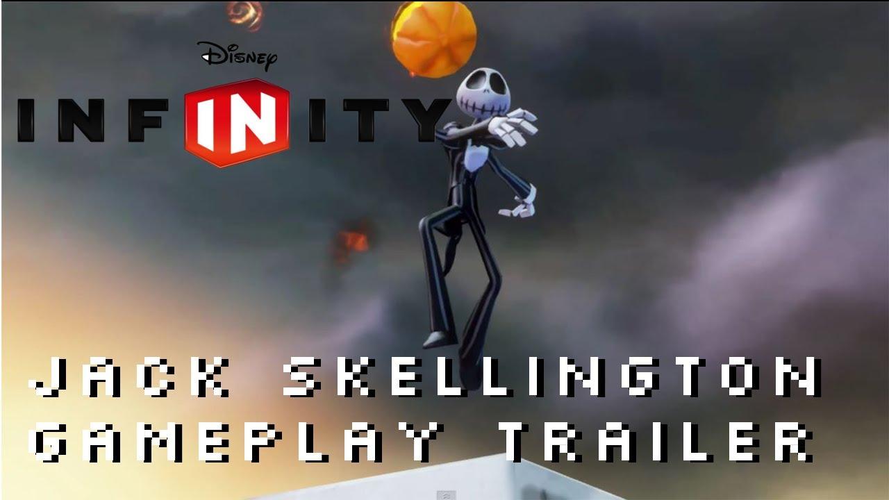 Disney Infinity Jack Skellington Gameplay Trailer 1080P The Nightmare ...