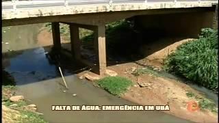 Prefeito decreta situa��o de emerg�ncia em Ub� - Alterosa em Alerta 29/01