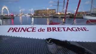 Prince de Bretagne dans les startings-blocks