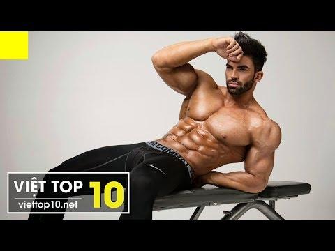 Top 10 Siêu Mẫu Thể Hình Có Body Đẹp Nhất Thế Giới