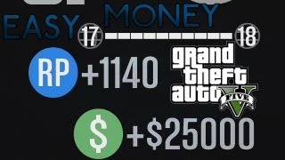 GTA 5 Online (AN OLD PATCHED METHOD ON) How To Make Easy