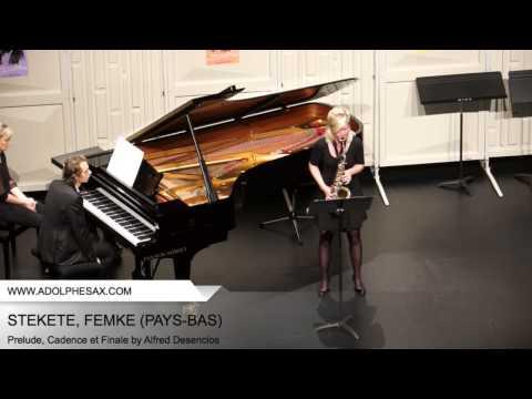 Dinant 2014 - STEKETE, FEMKE - Prelude Cadence et Finale by Alfred Desenclos