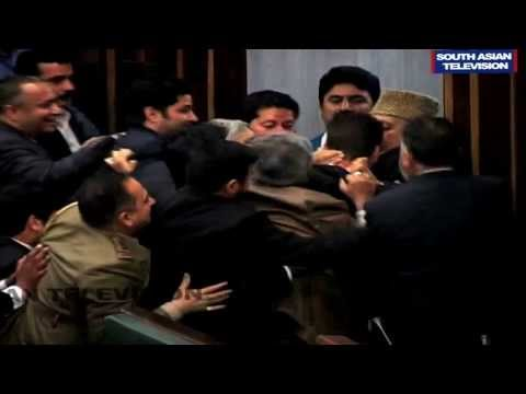 Mayhem in Jammu and Kashmir Assembly