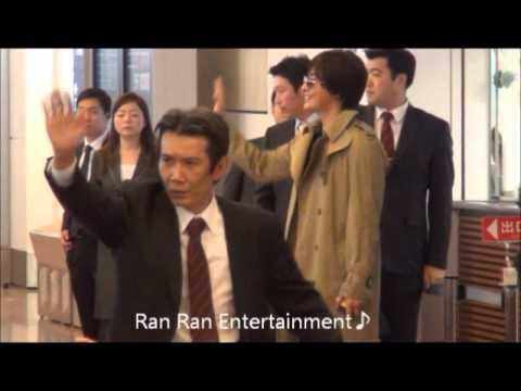 ペ・ヨンジュン来日 羽田空港