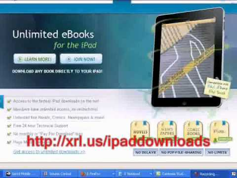 ipad ibook downloads- UNLIMITED