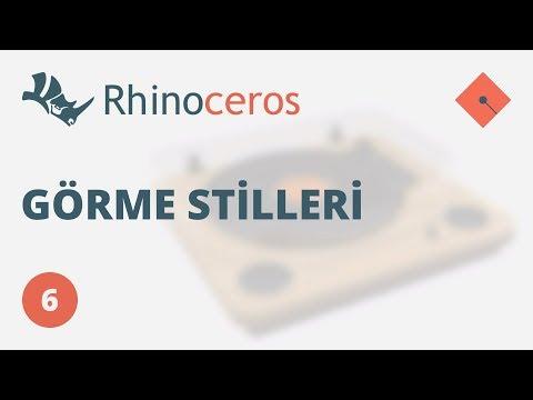 Yakın Kampüs – Rhinoceros 4 Ders 6 – Görme Stilleri (Türkçe)