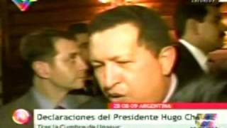 "Alan García ""bromea"" A Chavez, Resp. Completa De Chavez"