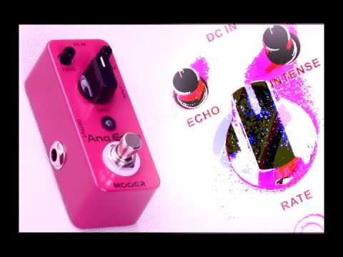 Mooer Ana Echo Micro Series Analog Echo Delay Pedal