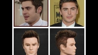 Zac Efron Haircut & Hairstyle Tutorial