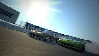 GT6 ツインドリフト Team Carbon & URP