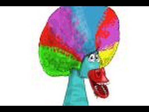 How to draw Marty from Madagascar 3