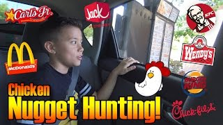 Drive Thru CHICKEN NUGGET HUNTING! Plus Cooking with MommyTube!