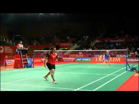 QF - WS - Wang Shixian vs Saina Nehwal - 2012 Djarum Indonesia Open