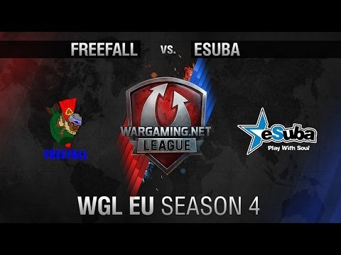 FreeFall vs. eSuba.INTEL - Matchday 7 - WGL EU Season 4 - World of Tanks