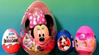 22 Surprise Eggs Bags Giant Minnie Mouse Easter Egg