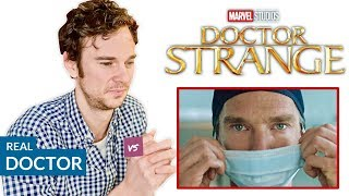 Real Doctor reacts to DOCTOR STRANGE | Hospital Movie Scenes Review