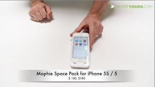 Mophie Space Pack For IPhone 5S / 5 Review Add Storage