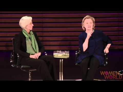Hillary Clinton and Christine Lagarde on double standard in the media