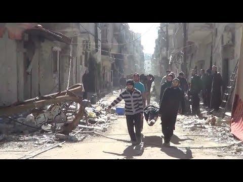 Syria: Homs Evacuation