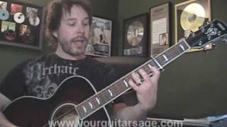 Guitar Lessons Your Love Tonight By The Outfield Cover