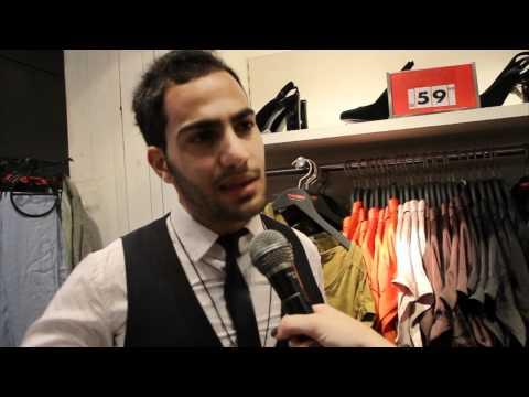 גל גדות באה לבקר באודישנים לתצוגת האופנה אביב-קיץ 2012