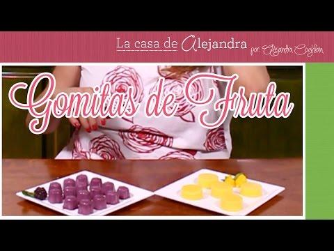 Gomitas de Fruta - DIY / Alejandra Coghlan