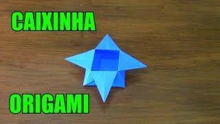Como Fazer Uma Caixinha De Origami!