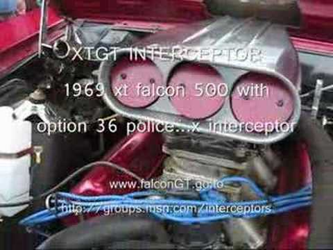 INTERCEPTOR falcon GT XT