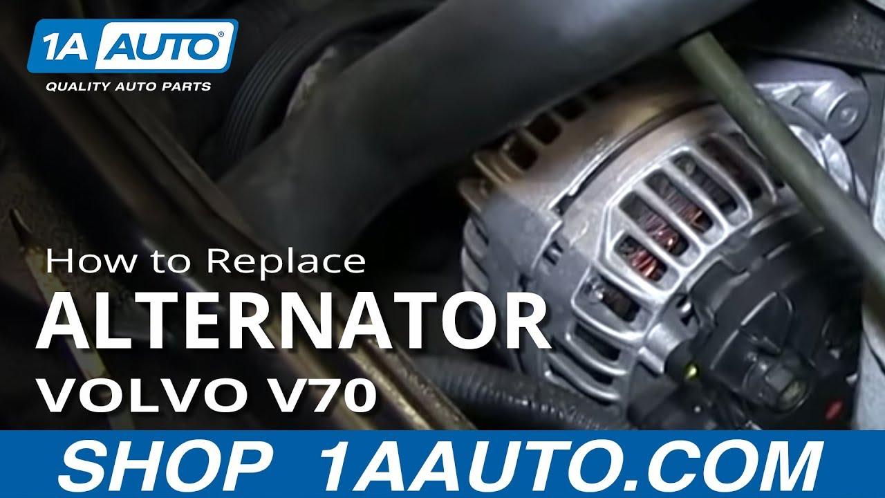 5 4l 3 valve engine diagram how to install replace alternator 1999 04 volvo v70 s60  how to install replace alternator 1999 04 volvo v70 s60