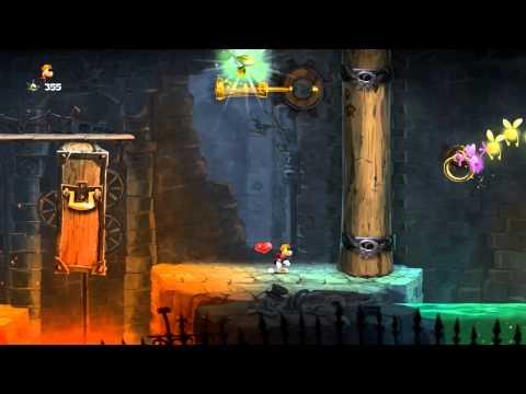 Rayman Legends - 9600GT Gameplay - Primeiros Minutos