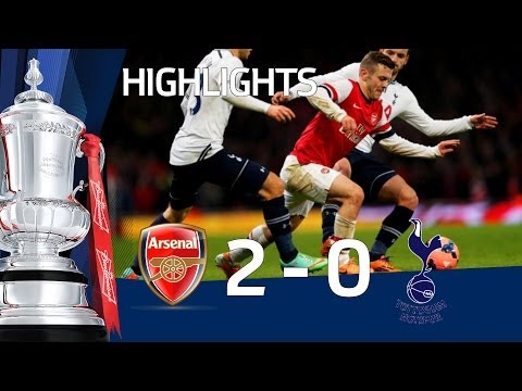 Arsenal vs Tottenham Hotspur 2-0, FA Cup Third Round Proper 2013-14 highlights