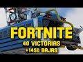 Fortnite en directo 1450 bajas 40 victorias Nivel 70 3 VICTORIAS M S