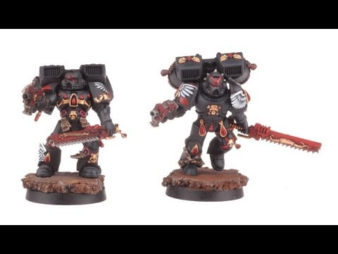 How to paint Death Company? Blood Angels | Warhammer 40k | wh40k | buypainted