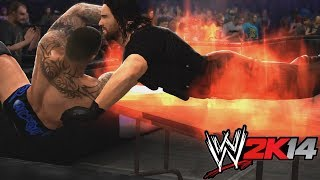 WWE 2K14 25 WAYS TO DO THE RKO!