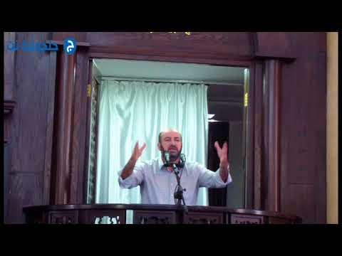 خطبة الجمعة للشيخ جابر جابر من مسجد الروضة في جلجولية -