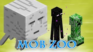 Minecraft Mob Zoo In Survival