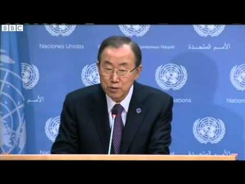 UN Chief  Ban Ki moon warns over South Sudan violations